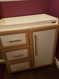 Mamas and Papas Baby changing unit excellent condition
