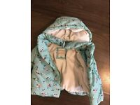 John lewis baby girl winter jacket (ages 6-9 months)