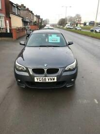 BMW 520D MOT LOADS EXTRAS MINT 2008 132K MILES CHEAP £3995
