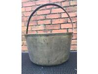 Antique brass Jam Pan