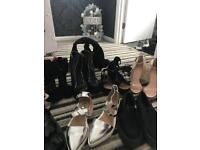 Job lot of women's shoes size 7