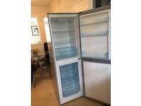 Fridge Freezer, Silver Logik Upright, bought new 6 months ago