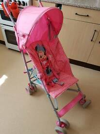 Mini Mouse Pushchair