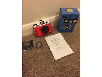 Lumography Camera - Red - Brand New!