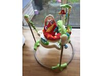 JUMPEROO FISHER-PRICE LIKE NEW