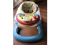 Chicco Musical Baby Walker £15