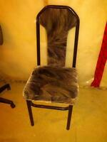 Sturdy Metal Chair - Good Condition