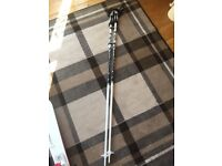 Ski poles used for one holiday