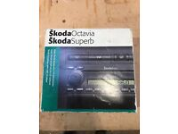 Skoda Octavia/Superb symphony cd Radio