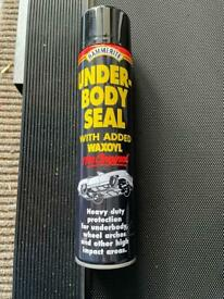 Hammerite under body seal for cars