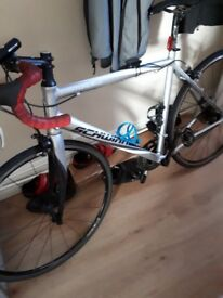 Hi all here we have a 9speed swin road . Been looked after . It's 2 years old . Be a good frist bike