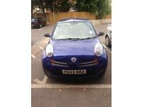 Nissan Micra 2003 a Lovely blue metallic colour