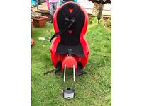 Child's bike seat/carrier