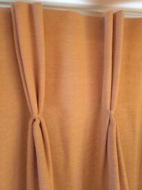 Lounge/ patio door curtains