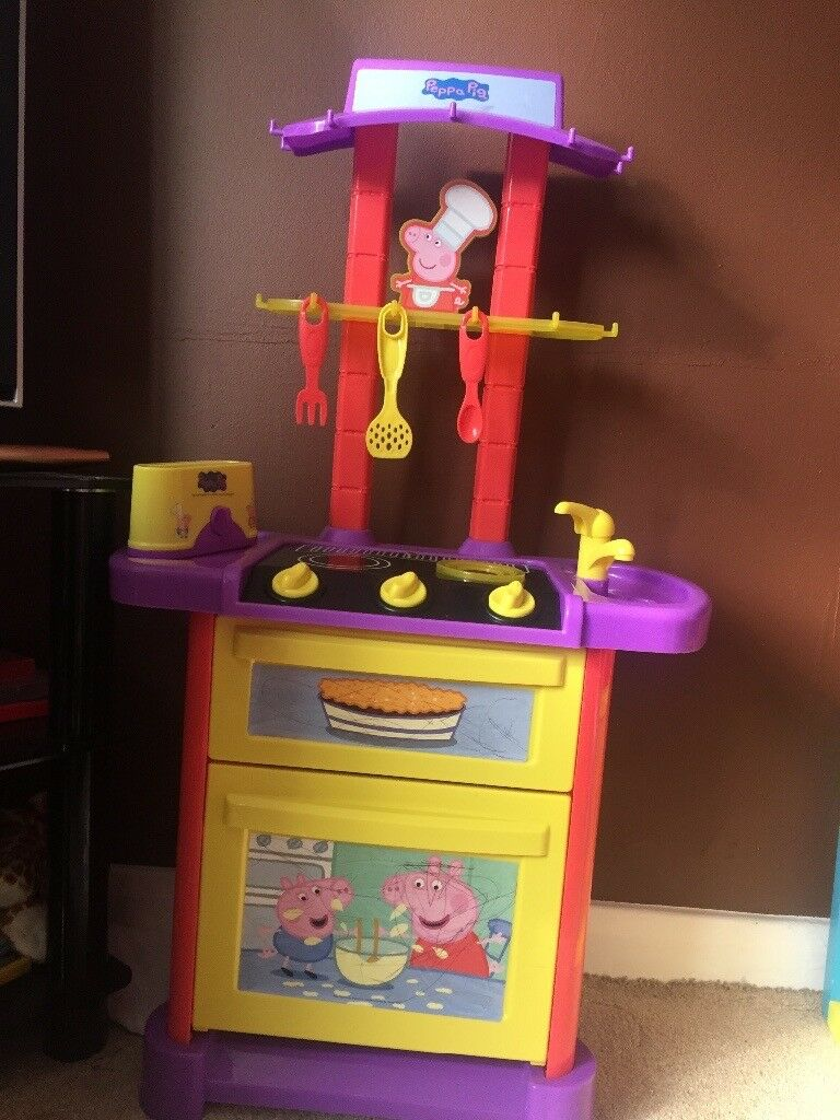 Peppa pig kitchen/cooker and