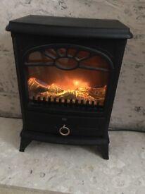 Electric wood burner stove