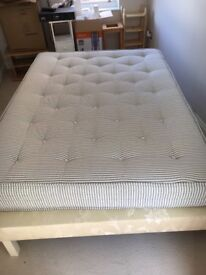 Excellent condition double divan bed with Benson Beds mattress