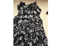 New floral dress UK 10 from TK Maxx