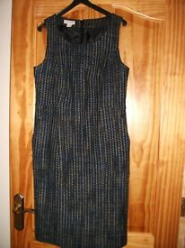 """""""Monsoon"""" checked pinafore dress. Size 10. Good condition."""