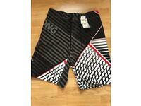 New unworn with Tags Men's Billabong swimming shorts Size 34 waist