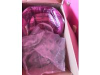 Mothercare pink from 9kg car seat