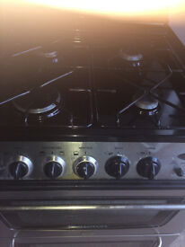 gas cooker double oven inox look...nice design...free delivery