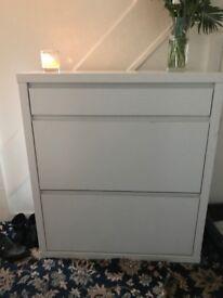 Shoe Cupboard white