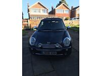 MINI COOPER CONVERTIBLE FOR SALE- LOW MILAGE- OFFERS CONSIDERD