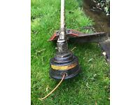 Petrol Strimmer Good working condition- includes petrol can and scissors