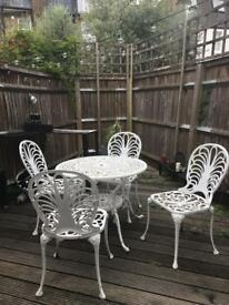 Garden table+chairs