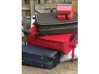 3 large suitcases