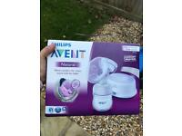 new phillips Avent breast pump