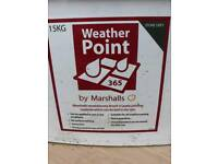 Marshalls weatherpoint365, buckets of jointing compound ,approx 60 tubs