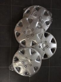 "Four new 15"" wheel hubs"