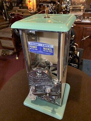 "1920's Masters Penny & Nickel Peanut Vending Machine   ""Watch Video"""