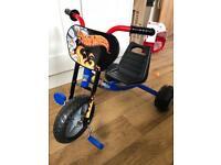Hot Wheel, big wheel trike