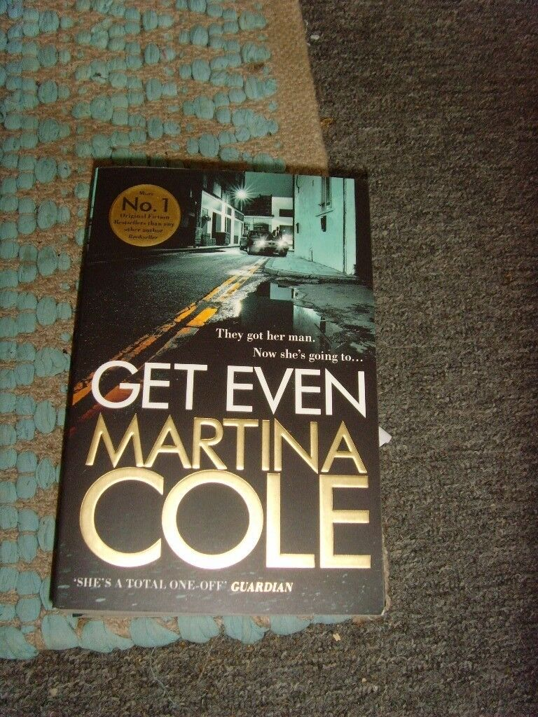 Get Even by Martina Cole (Paperback, 2015)