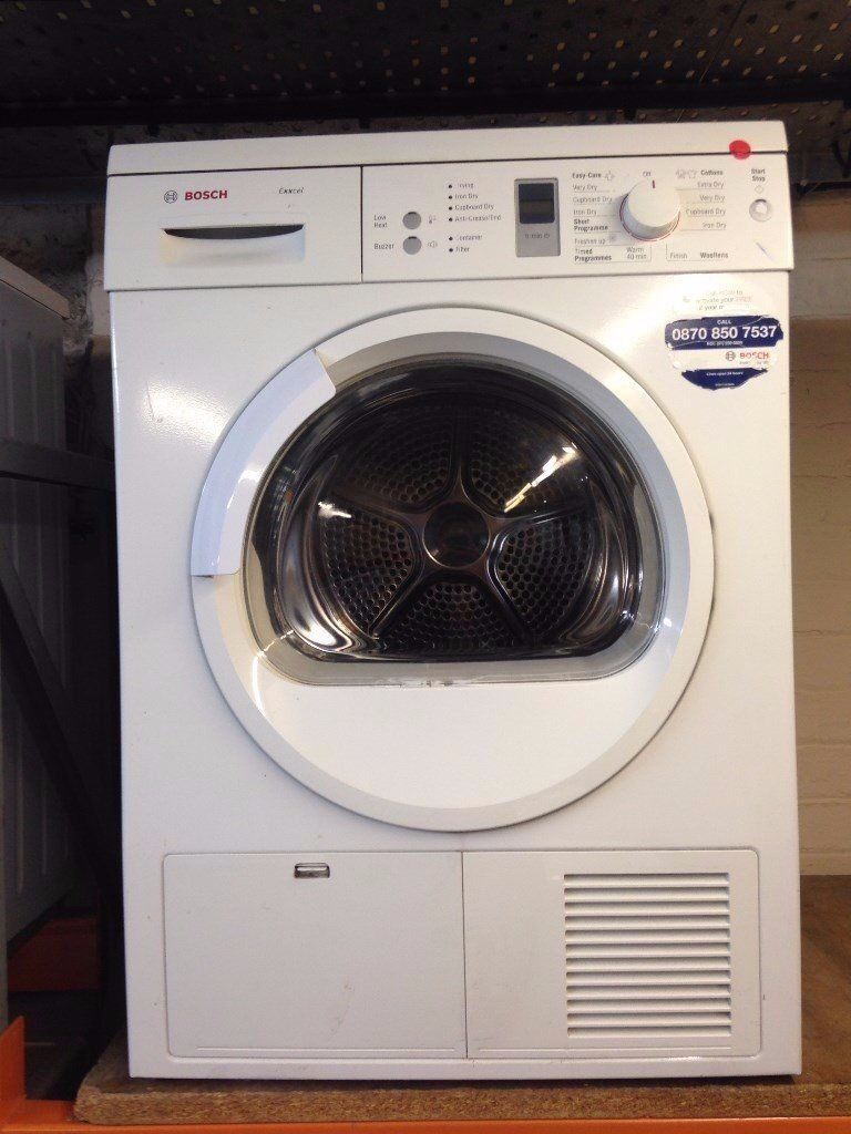 BOSCH 7KG HEAT PUMP DRYER RECONDITIONED