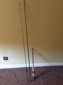 Tubertini 11ft canal special fishing rod
