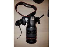 Canon 500D + canon lens 24-70mm