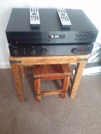 Audiolab hifi system