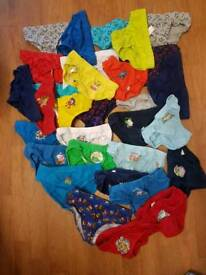 31 pairs of boys pants 3 to 5 years