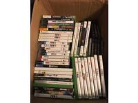 Joblot of 100 Xbox, ps and Wii games
