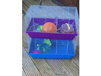 Hamster cages plus accessories