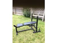 Bench press for weight lifting