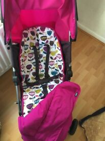 Mamas & Papas Swirl Buggy/Pram, good condition