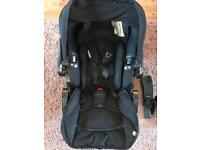 Kiddy baby car seat and ISO fix base