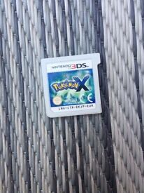 3D Pokemon X Nintendo 3DS Game for sale