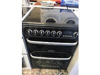 Cannon black 60cm full electric cooker
