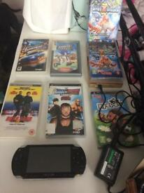 Psp 1001 with games